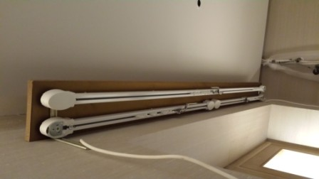 Electric Track And Motorised Roller Fitted In Lancaster