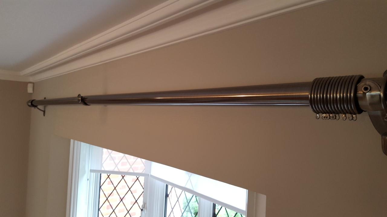 Drapery Installation Service : Curtain pole installation service london