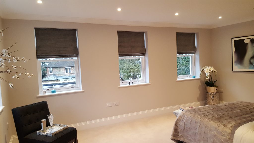Roman Blind Installation In London Curtain Fitters